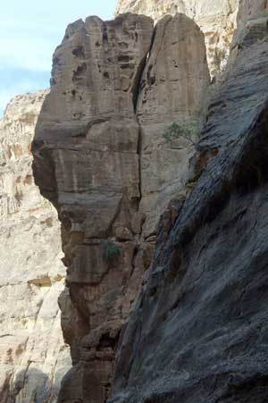 Big Block at Petra