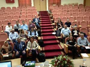 Petra workshop participants
